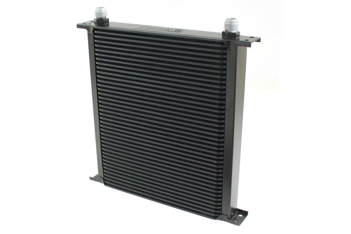 Chłodnica Oleju TurboWorks 40-rzędowa 260x315x50 AN10 black - GRUBYGARAGE - Sklep Tuningowy
